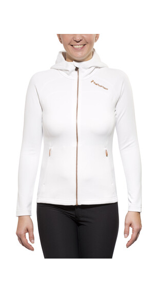 Peak Performance Fort Zip Hood Jacket Women offwhite